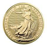 1 Oz Gold Britannia Coin (2021 ) CGT Free*