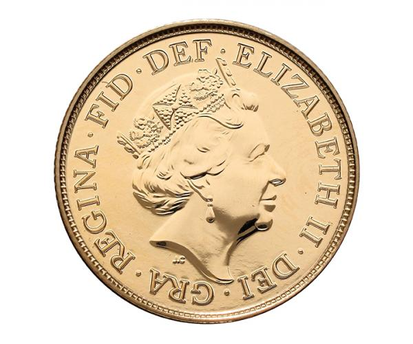 Gold Sovereign (8g) (2020) Fifth Head CGT Free* image