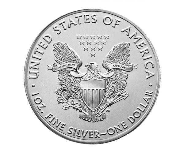 1 Ounce Silver American Eagle Coin (Mixed Years) image