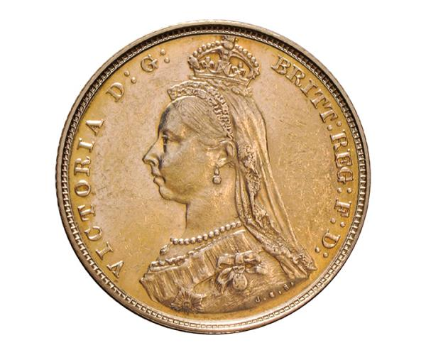 22ct 8 Gram Full Gold Sovereign Coin (Victoria, Jubilee Head) CGT Free* image