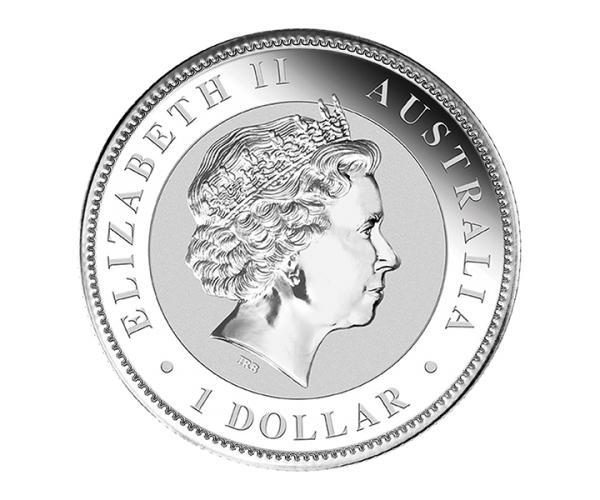 1 Ounce Australian Kookaburra Silver Coin (Mixed Years) .999 image