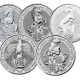 2 Ounce Fine Silver Coins (Assorted Selection) .999 image