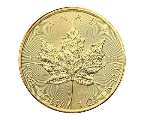1oz Gold Maple Leaf Coin (2018-2020) 999.9 image