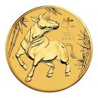1 Ounce Year Of The Ox Gold Coin (2021)