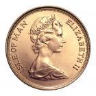 Half Gold Sovereign (4g) (Isle Of Man) CGT Free*