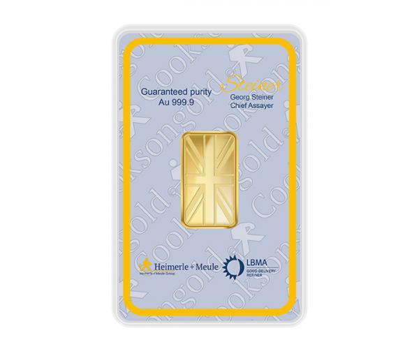20 Gram Heimerle + Meule Investment Gold Bar .9999 image